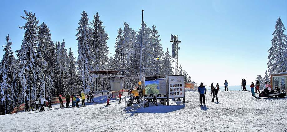 Skifahren im Böhmerwald