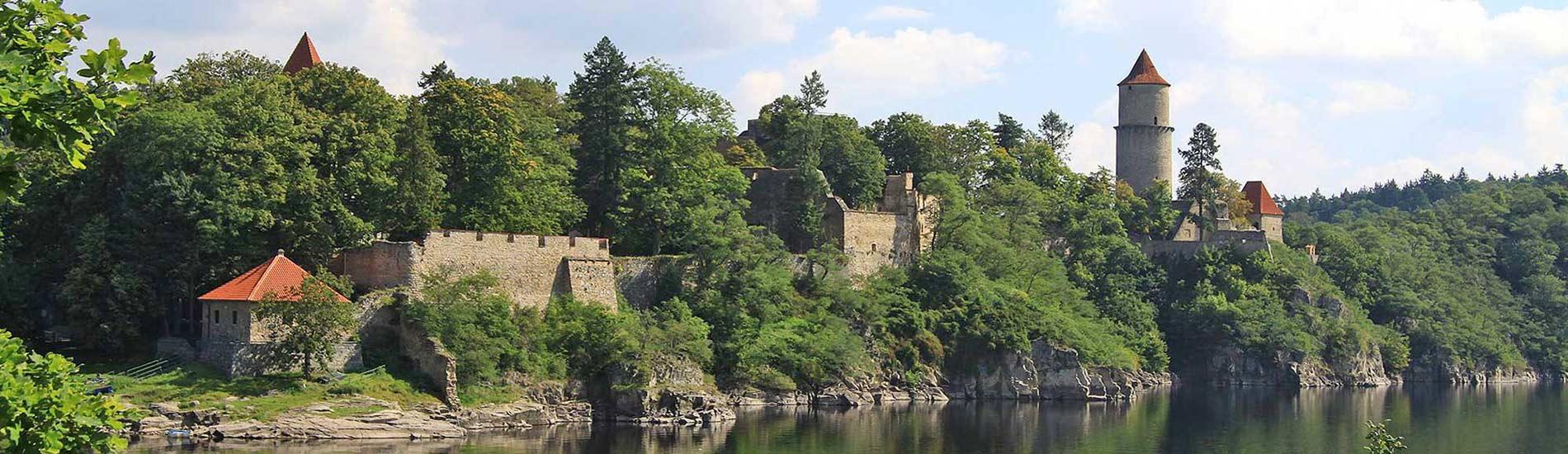 Hrad Zvíkov - Burg Klingenberg
